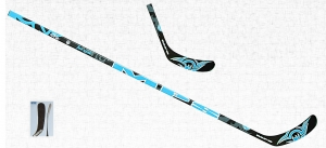 Canne d'hockey MPS Flash Attack Sakic black blue